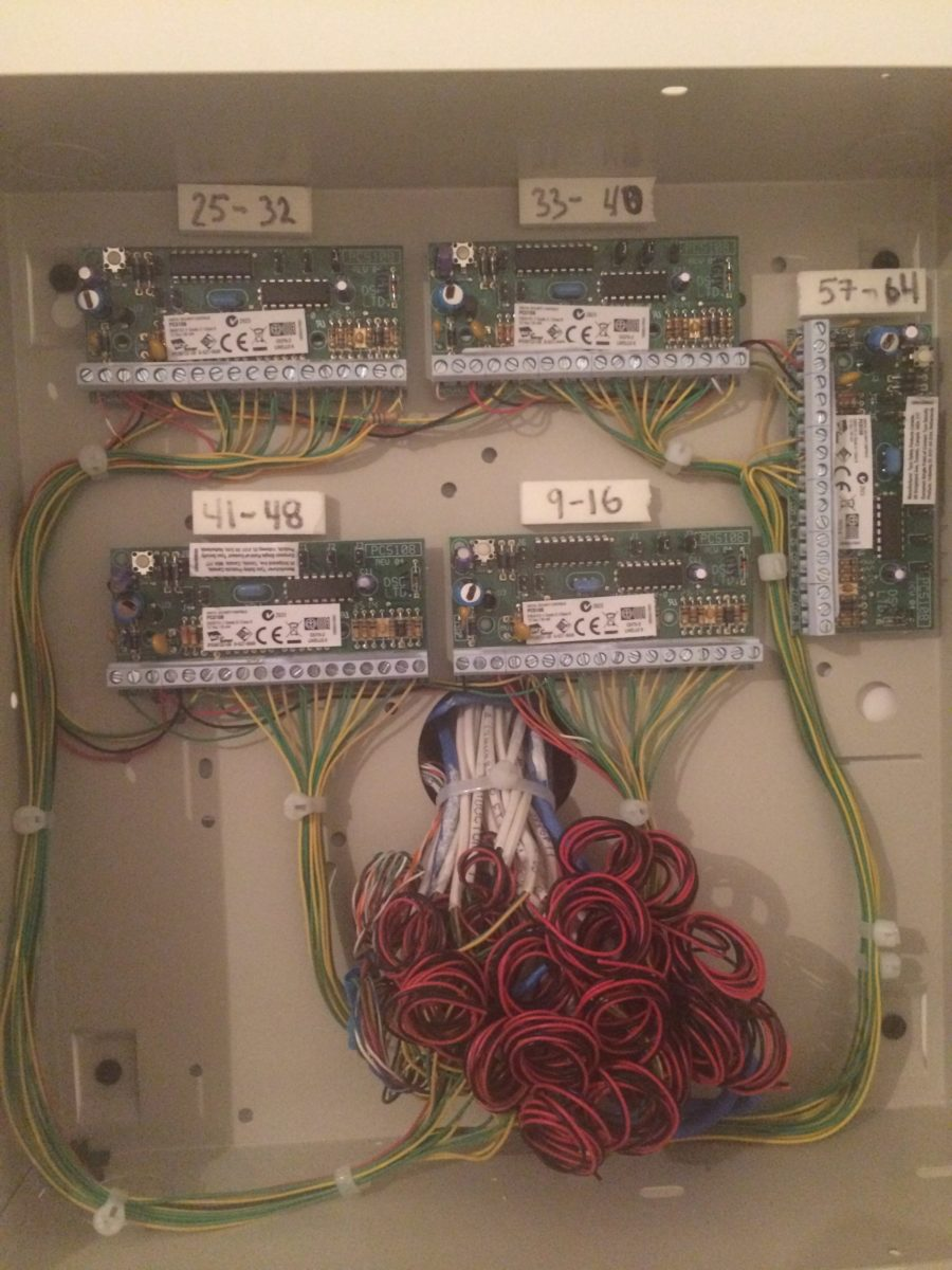 Services Night Watch Securitynight Security Basic Structured Wiring Installation Adjacent To Panel Systems